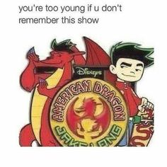 "This was so much better than ""Randy Cunningham: grade ninja"" American Dragon: Jake Long will live in our memories and hearts forever! Right In The Childhood, Childhood Memories, Dc Memes, Funny Memes, Funny Shit, Funny Stuff, Hilarious, Blabla, Jake Long"
