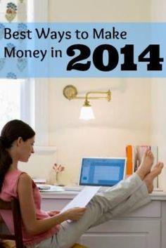 Best Ways to Make Money in 2014 #workathome #WAHM WAHM #workathomemom work at home mom