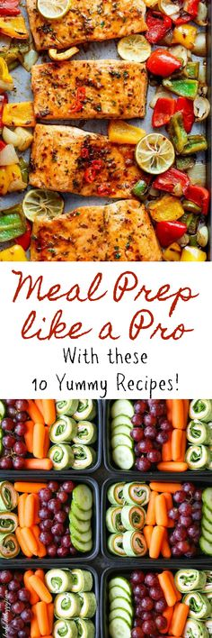 Meal Prep Like a Pro with These 10 Yummy Recipes! – Looks Like Happy Busy days call for some pre-planning and this meal prep roundup is exactly what you need. Take it easy on yourself and get dinner out of the way in one day! Easy Meal Prep, Healthy Meal Prep, Healthy Eating, Weekly Meal Prep, High Protein Meal Prep, Healthy Lunches, Healthy Foods, Breakfast Recipes, Dinner Recipes