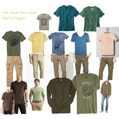 """Soft Autumn Men's Casual Practice"" by julializz on Polyvore"
