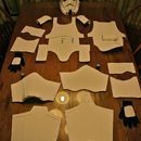 DIY kids' stormtrooper instructions. Uses foam core. Will need to size up.