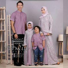 Mother Daughter Fashion, Mom Daughter, Kebaya Modern Dress, Family Set, Hijab Dress, Family Outfits, Matching Outfits, Hijab Fashion, Muslim