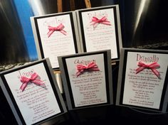 Cute way to ask your bridesmaids to be in your wedding