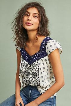Palm Springs Fringed Blouse