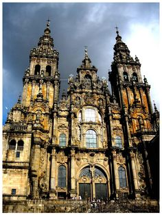 Catedral de Santiago de Compostela, Galicia, Spain.  I want to visit our friends here!!!