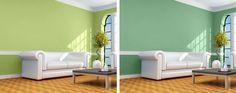 Tonos verdes para pintar las paredes - Saber y Hacer