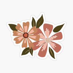 'Viney Floral Motif' Sticker by StudioPosies Cute Laptop Stickers, Bubble Stickers, Plastic Stickers, Anime Stickers, Diy Stickers, Scrapbook Stickers, Printable Stickers, Sticker Ideas, Iphone Wallpaper Vans