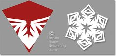 paper snowflake pattern for cutting
