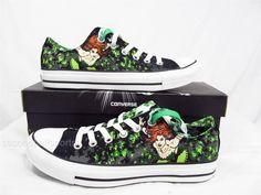 Converse Batman Poison Ivy Chuck Taylor All Star Shoes DC Comics Mens WomenS   eBay