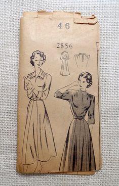 Vintage Pattern Mail Order Clotilde 2856 by momandpopcultureshop