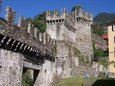 PINTEREST.COM.\CASTLES OF SWITZERLAND | Three Castles Of Bellinzona, Bellinzona Photos