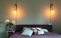 DIY: lamp. Met hashtag #snoerboer vind je op internet volop inspiratie (denk aan Pinterest en Instagram) maar ook op de inspiratiepagina van Snoerboer zelf staan voorbeelden. Leuk! Geheel terecht een succesvol concept. Wij gingen aan de slag op de slaapkamer.