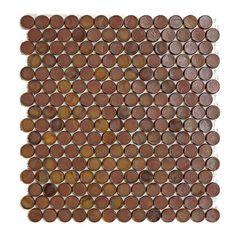 #Sicis #Neoglass Barrels Ng Milk Chocolate 2 cm | #Murano glass | on #bathroom39.com at 265 Euro/box | #mosaic #bathroom #kitchen