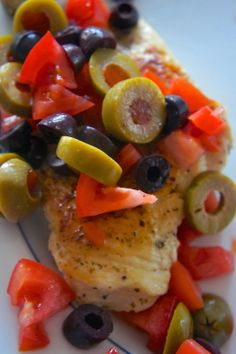 Savory Sweet and Satisfying: Skillet Chicken with Olives and Tomatoes