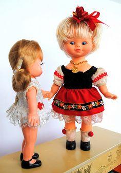 Bonecas Dancinha da Estrela anos 70 / 80