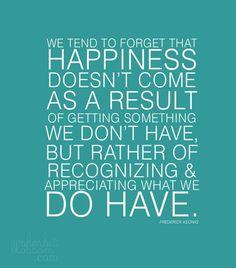 happiness:)