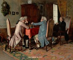 Lessi, Tito (b,1858)- Game of Chess