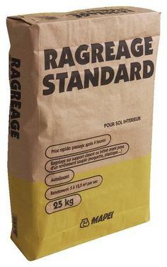 Ciments et Agrégats // Ragréage Standard Intérieur 25kg - MAPEI