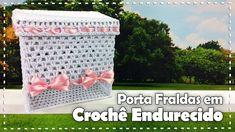 PORTA FRALDAS EM CROCHÊ com Carmem Freire - Programa Arte Brasil - 09/01...