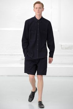 Christophe Lemaire Spring 2015 Menswear - Collection - Gallery - Look 1 - Style.com