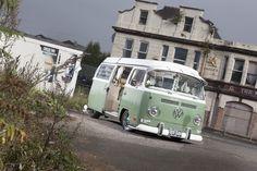 Our favourite motor of the month. Steve Forrester's Volkswagen Westfalia Camper Van