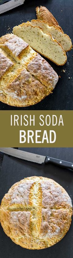 Traditional Irish bread that takes only five minutes to put together and in less than an hour your house will be filled with the aroma of freshly baked bread.