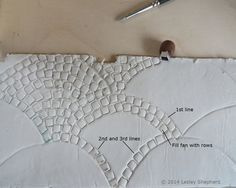 Learn How to Quickly Pave a Cobblestone Fan for Dollhouse Streets and Patios