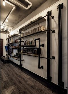 Google and design on pinterest - Etagere murale style industriel ...
