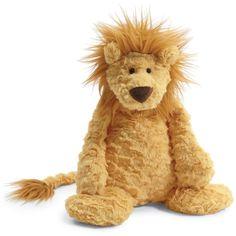Jellycat Unisex Lion Plush Toy - 15 ($33) ❤ liked on Polyvore