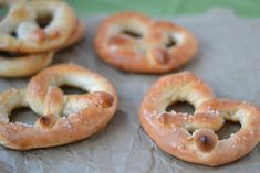 """Auntie Anne's pretzels:  """"Skip the mall or the airport and make these buttery baked treats at home instead"""""""