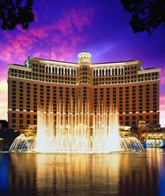 No. 20 Fountains of Bellagio, Las Vegas - Most Pinned Travel Photos | Travel + Leisure