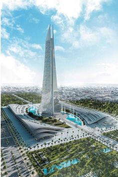 There Are Plans to Build a Futuristic Version of Saurons Tower in Morocco