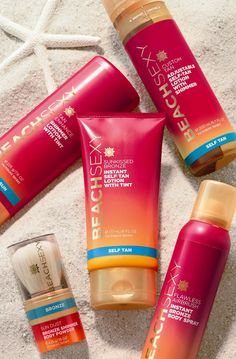 Victoria's Secret Beach Sexy Flawless Airbrush Tan love all of these products