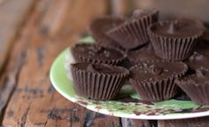 Mini Peppermint Patties with Homemade Dark Chocolate