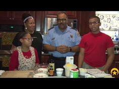 Cooking Cop: Lt. Jenerio Sanders Shares Recipe For His Favorite Holiday Dish - NOPD News