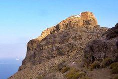 Castle of Kithnos island Cyclades