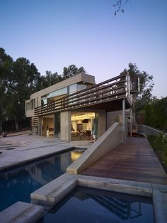 Point Dume Residence - From pool - Architizer