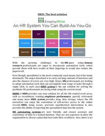 A Convenient Way to Speed Up HR Operations Hr Management, Life Cycles, Periodic Table, Good Things, Let It Be, Periodic Table Chart, Periotic Table