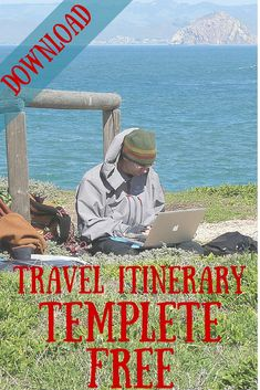 """I've come up with a simple way to stay organized on a trip. My travel itinerary template has evolved into what I call a travel """"cheat sheet"""""""