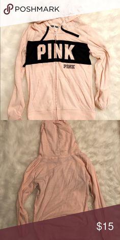 db626afa9 vs pink sweatshirt vs pink pale pink sweatshirt. has black strip across  chest with black