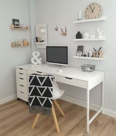 shoe organization When you dont know which one to crop. Head or shoes Wearing sundaysthelabel Home Office Space, Home Office Design, Home Office Decor, Office Desk, Ikea Office, Study Room Decor, Cute Room Decor, Teen Study Room, Bedroom Decor For Couples