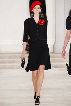 Ralph Lauren Spring 2013 Ready-to-Wear Fashion Show - Cecilia Mendez