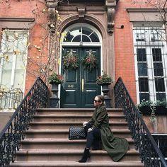 Brooklyn Blonde, Street Style, Adventure, Coat, Instagram Posts, Fashion, Moda, Sewing Coat, Urban Style