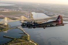 B-17 Flying Fortress #warbird