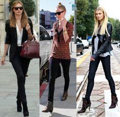 0o ideal é usar a calça legging e a bota na mesma cor, e de preferência com uma cor que seja mais escura e fechada.