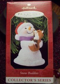 Snow Buddies Hallmark Ornament - BRAND NEW $5