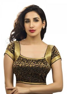 No need to look anywhere else for trendy readymade blouse. We have hundreds of appealing designs for blouses to match with your sarees. Sari Blouse Designs, Saree Blouse Patterns, Fancy Blouse Designs, Designer Blouse Patterns, Readymade Blouses Online, Designer Blouses Online, Stylish Blouse Design, Indian Fashion, Women's Fashion