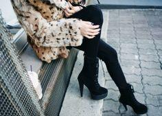 burberry, cute, fashion, girl, heels, leopard