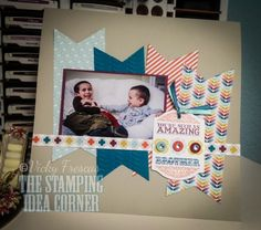 Amazing Brother scrapbook page