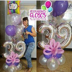 Birthday Centerpieces, Balloon Centerpieces, Balloon Decorations, Birthday Party Decorations, Balloons And More, Number Balloons, Letter Balloons, Baby Shower Balloons, Birthday Balloons